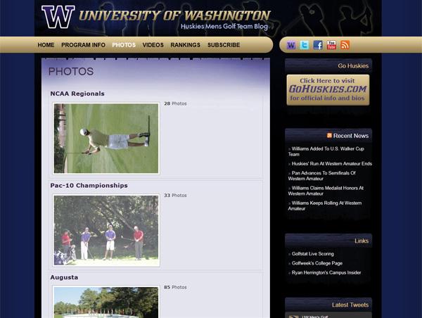 Husky Golf Blog